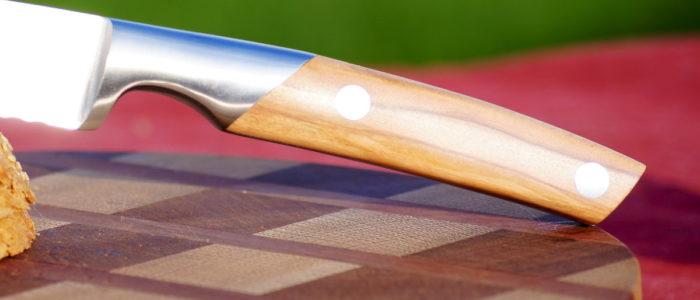 Brotmesser Thiers Goyon-Chazeau, Olivenholz, 23 cm
