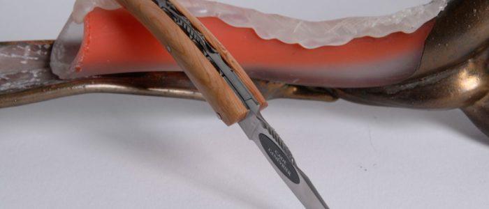 Taschenmesser Thiers Arbalete Genes David, Wacholder nur 8cm