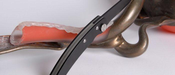 Taschenmesser Thiers Claude Dozorme, Aluminium noir