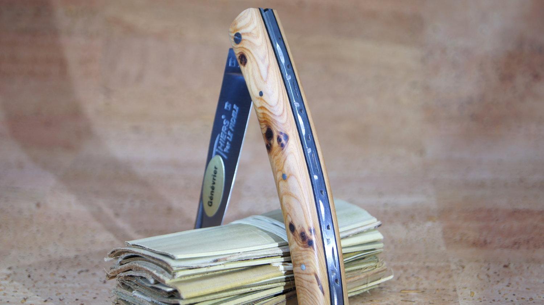 Taschenmesser Thiers Plein, Le Fidele, Wacholderholz