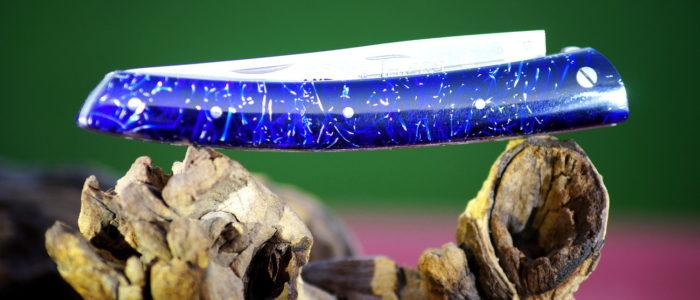 Taschenmesser Thiers Edition Plein, Le Fidele, copeau bleu 11 cm