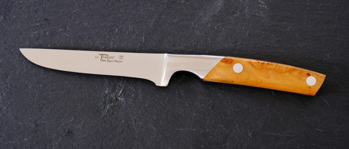 Ausbeinmesser Thiers Goyon-Chazeau, Wacholdergriff 13 cm