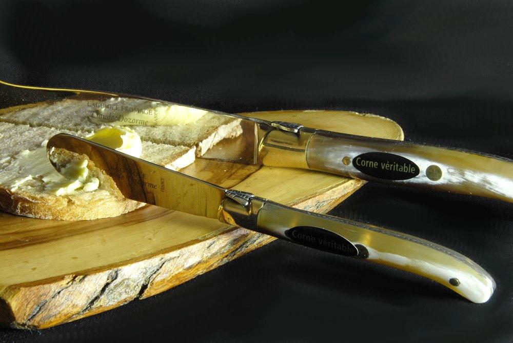 Claude Dozorme Laguiole Käsebesteck Käse- und Buttermesser