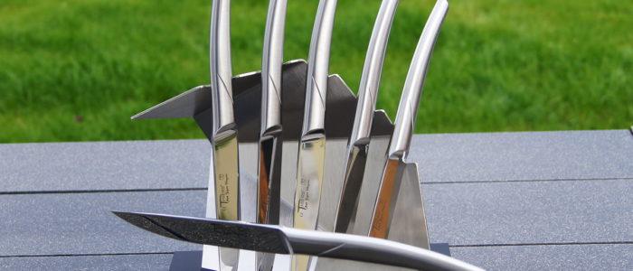 Goyon-Chazeau Set 6-teilig, Steakmesser Monoblock glänzend