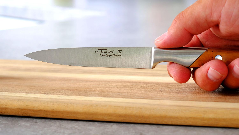 Sandwich-Küchenmesser Thiers Goyon-Chazeau, Wacholdergriff 12 cm
