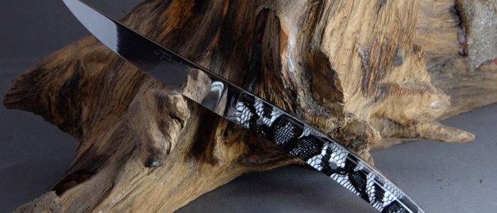 Claude Dozorme Thiers 6-teilig, Steakmesserset dentelle noire