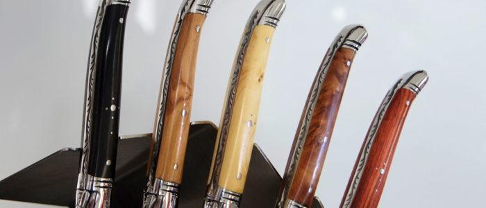 Laguiole GOYON-CHAZEAU PRESTIGE, 12-teilig, Steakmesserset Divers glänzend
